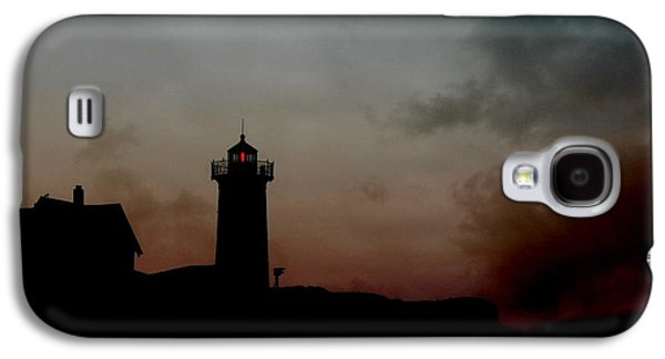 Nubble Lighthouse Galaxy S4 Cases - Wicked Dawn Galaxy S4 Case by Lori Deiter