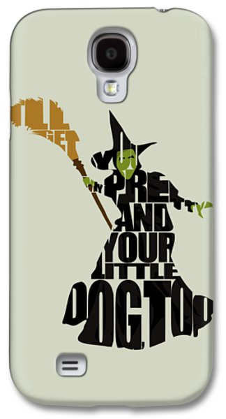 Wicked Witch Of The West Galaxy S4 Case by Ayse Deniz
