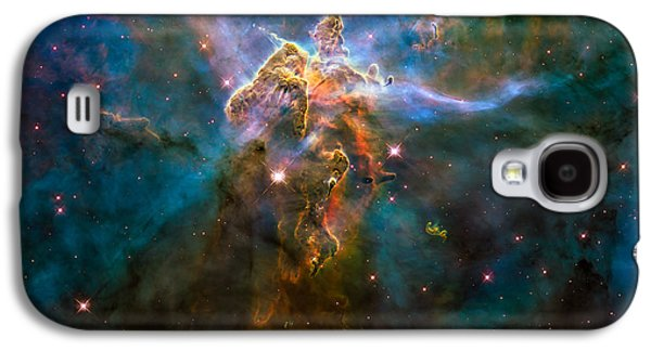 Wide View Of Mystic Mountain Galaxy S4 Case by Marco Oliveira