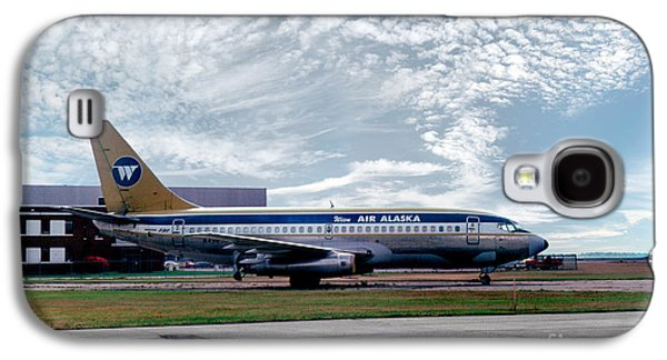 Wien Air Alaska Boeing 737, N4907 Galaxy S4 Case by Wernher Krutein