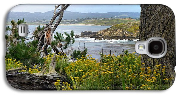 Contemplative Photographs Galaxy S4 Cases - Wild Beauty of Point Lobos  Galaxy S4 Case by Carla Parris