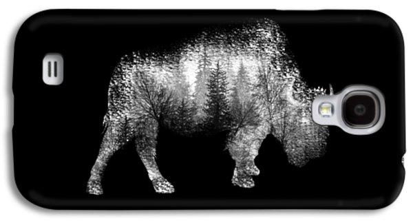 Bison Digital Galaxy S4 Cases - Wild Bison Galaxy S4 Case by Nostalgic Art
