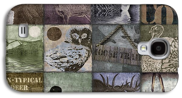 Wild Game Patchwork II Galaxy S4 Case by Mindy Sommers