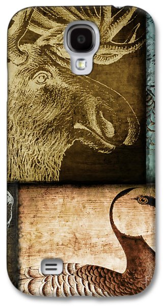 Wild Game Primitive Patchwork Galaxy S4 Case by Mindy Sommers