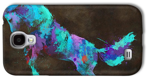Wild Horses Couldn't Drag Me Away From You Galaxy S4 Case by Nikki Marie Smith