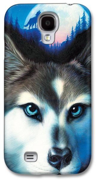 Animal Galaxy S4 Cases - Wild One Galaxy S4 Case by Andrew Farley
