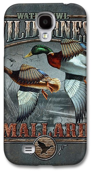 Wilderness Mallard Galaxy S4 Case by JQ Licensing