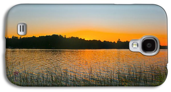 Camelot Galaxy S4 Cases - Wilderness Point sunset panorama Galaxy S4 Case by Gary Eason