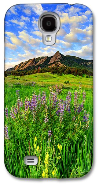 Fort Collins Galaxy S4 Cases - Wildflower Colors Galaxy S4 Case by Scott Mahon