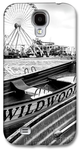 Chair Galaxy S4 Cases - Wildwood Black Galaxy S4 Case by John Rizzuto