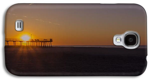 Crest Digital Art Galaxy S4 Cases - Wildwood Crest Pier Panorama Galaxy S4 Case by Bill Cannon