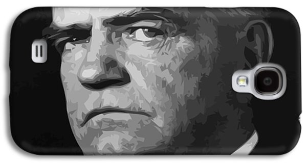 Bull Digital Art Galaxy S4 Cases - William Bull Halsey Galaxy S4 Case by War Is Hell Store