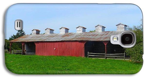Williams Corncrib Galaxy S4 Case by Julie Dant