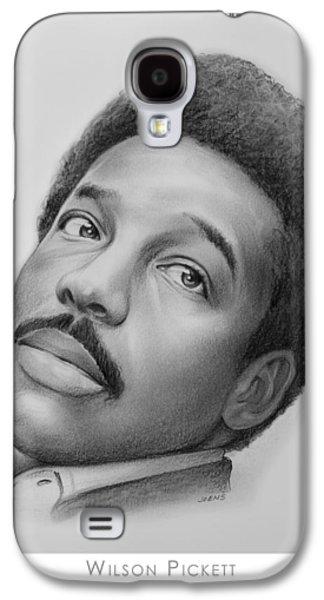 Wilson Pickett Galaxy S4 Case by Greg Joens