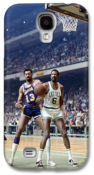 Boston Celtics Galaxy S4 Cases - Wilt Chamberlain (1936-1999) Galaxy S4 Case by Granger