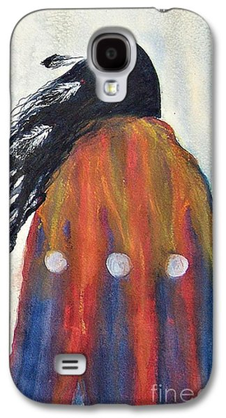 Recently Sold -  - Abstract Nature Galaxy S4 Cases - Wind in her Hair Galaxy S4 Case by Elizabeth  Webb