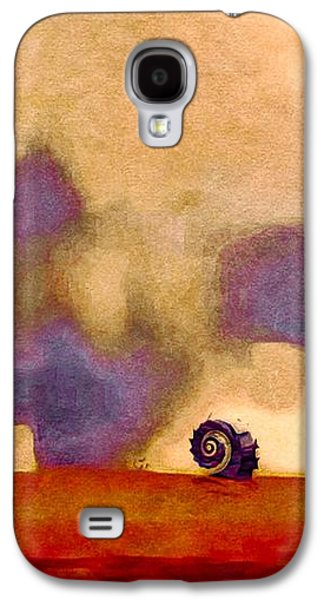 Colorful Abstract Galaxy S4 Cases - Wind World Galaxy S4 Case by Susan Maxwell Schmidt