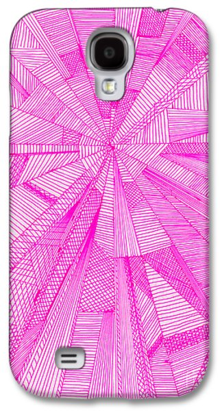 Kim Drawings Galaxy S4 Cases - Windmills Of My Mind Galaxy S4 Case by Kim Magee