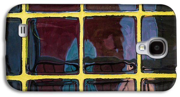 Original Art Photographs Galaxy S4 Cases - Window Reflections Galaxy S4 Case by Donna Lee