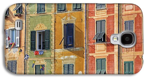 Rich Galaxy S4 Cases - Windows of Portofino Galaxy S4 Case by Joana Kruse