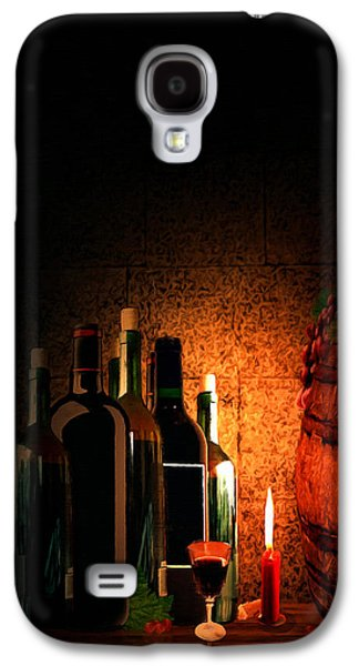 Grape Leaf Galaxy S4 Cases - Wine and Leisure Galaxy S4 Case by Lourry Legarde