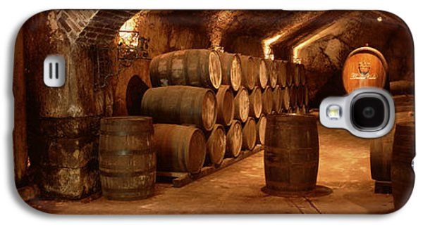 Wine Barrels In A Cellar, Buena Vista Galaxy S4 Case by Panoramic Images