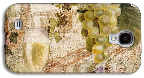 Champagne Paintings Galaxy S4 Cases - Wine Country Alsace Galaxy S4 Case by Mindy Sommers