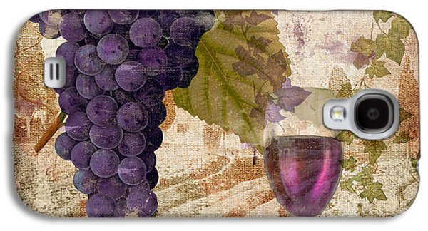 Champagne Paintings Galaxy S4 Cases - Wine Country Provence Galaxy S4 Case by Mindy Sommers