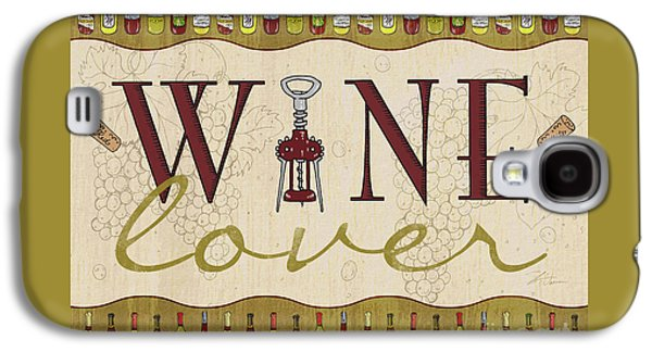 Wine Lover Galaxy S4 Case by Shari Warren