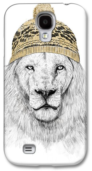 Lions Mixed Media Galaxy S4 Cases - Winter is coming Galaxy S4 Case by Balazs Solti
