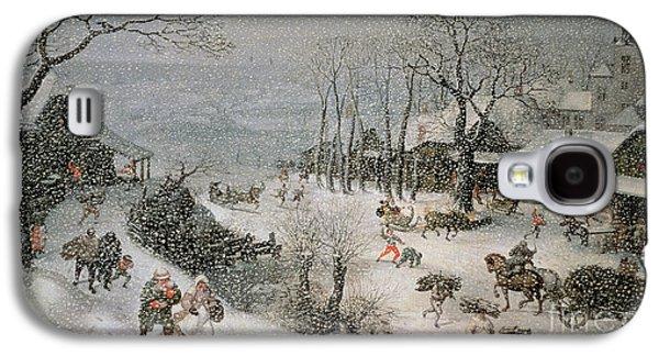 Winter Galaxy S4 Case by Lucas van Valckenborch