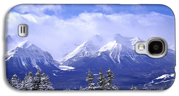 Sports Photographs Galaxy S4 Cases - Winter mountains Galaxy S4 Case by Elena Elisseeva