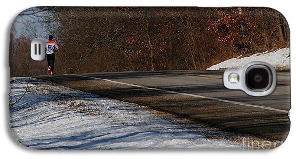 Winter Run Galaxy S4 Case by Linda Shafer