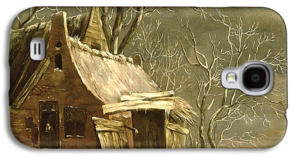Winter Scene Galaxy S4 Case by Jan Beerstraten