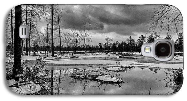 Winter Storm Landscape Galaxy S4 Case by Louis Dallara