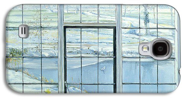 Slush Galaxy S4 Cases - Winter Triptych Galaxy S4 Case by Timothy Easton