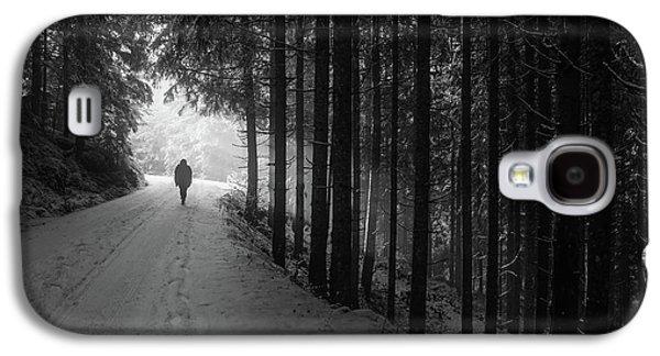 Winter Walk - Austria Galaxy S4 Case by Mountain Dreams