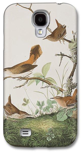 Winter Wren Or Rock Wren Galaxy S4 Case by John James Audubon