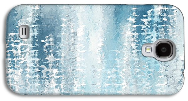 Light And Dark Galaxy S4 Cases - Wintry Frenzy Galaxy S4 Case by Lourry Legarde