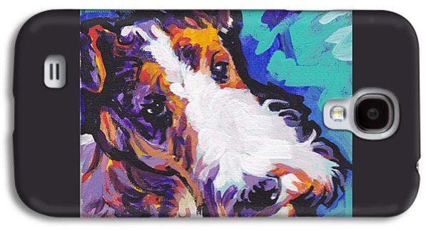 Recently Sold -  - Puppies Galaxy S4 Cases - Wired Galaxy S4 Case by Lea