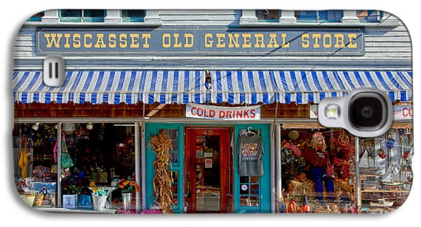Country Store Galaxy S4 Cases - Wiscasset General Galaxy S4 Case by Susan Cole Kelly