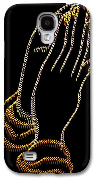 With Trembling. Hands Galaxy S4 Case by Skip Willits