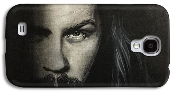Metallica Galaxy S4 Cases - Within The Shadows of Darkness Galaxy S4 Case by Christian Chapman Art