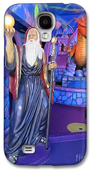 People Sculptures Galaxy S4 Cases - Wizards and Dragons Galaxy S4 Case by John Malone