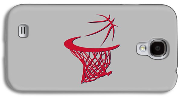 Wizard Photographs Galaxy S4 Cases - Wizards Basketball Hoop Galaxy S4 Case by Joe Hamilton