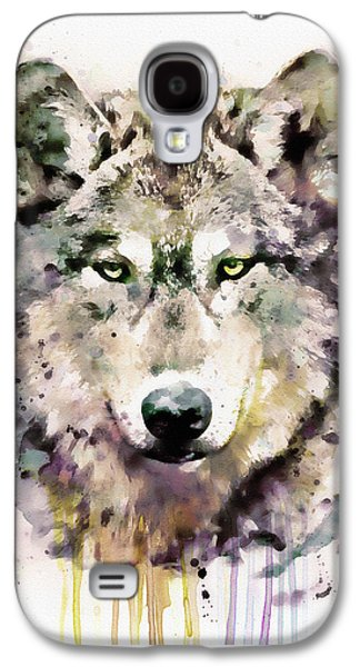 Wolf Head Galaxy S4 Case by Marian Voicu