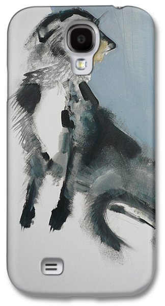 Wolfhound Galaxy S4 Case by Sally Muir