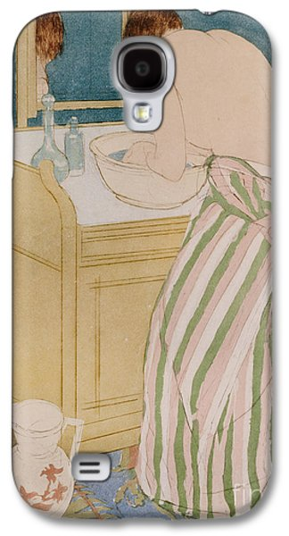 Woman Bathing Galaxy S4 Case by Mary Stevenson Cassatt