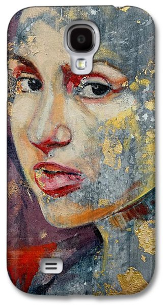 Abstracts Galaxy S4 Cases - Woman In Gold Galaxy S4 Case by David Popa