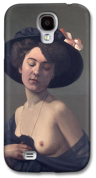 Woman With A Black Hat Galaxy S4 Case by Felix Vallotton